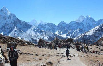 Everest Cho La Pass trekking