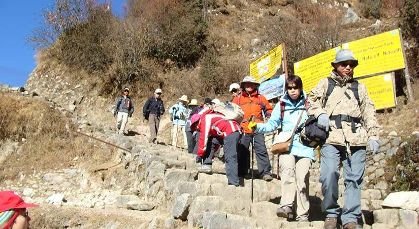 Everest High Pass Trekking