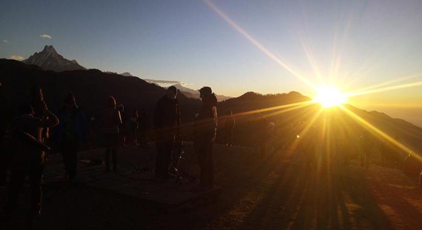 3 days Poon hill sunrise trekking from Pokhara