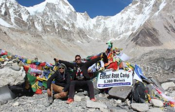 Hiking the Everest base camp in Nepal- adventure trip