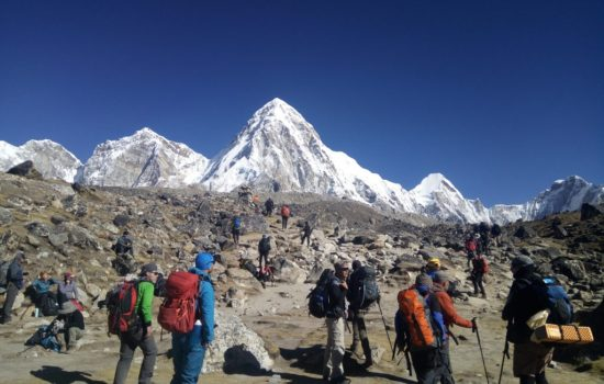 Everest base camp trek with Local Guide